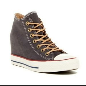 Converse Chuck Taylor Lux Mid Wedge Sneakers
